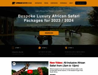 africansafarihome.com screenshot