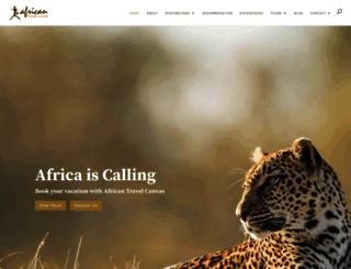 africantc.co.za screenshot