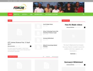 africantechnologyforum.org screenshot