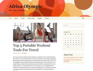africaolympic.net screenshot