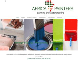 africapainters.co.za screenshot