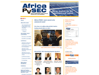 africapvsec.info screenshot