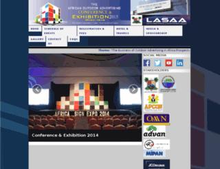 africasignexpo.com screenshot