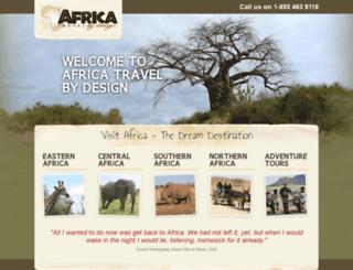 africatraveldesign.com screenshot