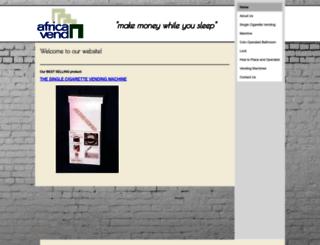 africavend.co.za screenshot