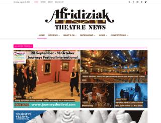afridiziak.com screenshot