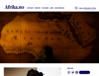 afrika.no screenshot