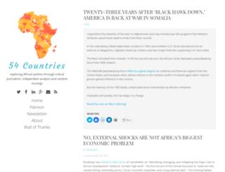 afrikaecho.de screenshot