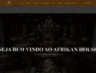 afrikanhouse.com.br screenshot