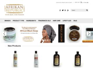 afrikanrepublic.com screenshot