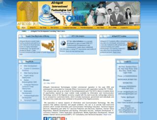 afrikgold.com screenshot