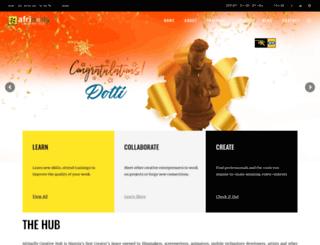 afrinolly.com screenshot
