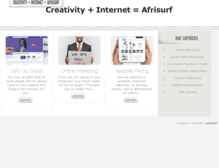 afrisurf.com screenshot