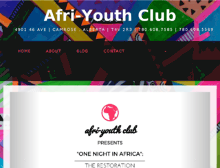 afriyouthclubaugustana.ca screenshot