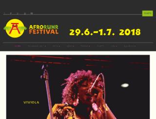 afro-ruhr-festival.africa-positive.de screenshot