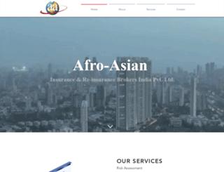 afroasian-insurance.co.in screenshot