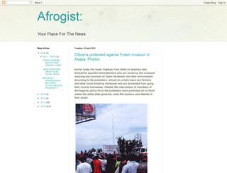 afrogist247.blogspot.com screenshot