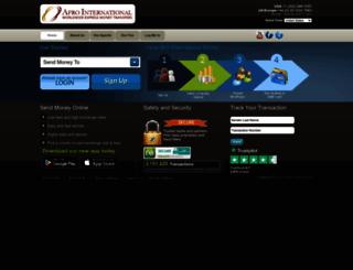 afroint.com screenshot