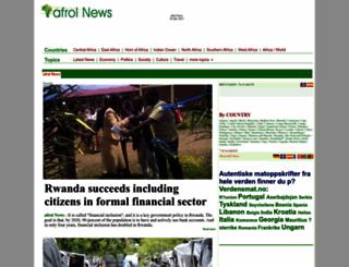 afrol.com screenshot