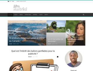 afromontreal.com screenshot