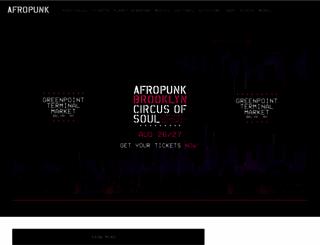 afropunk.com screenshot