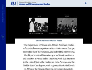 afs.ku.edu screenshot