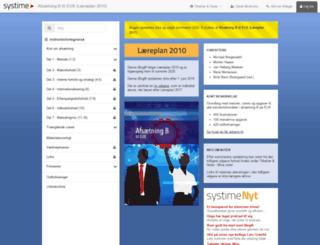 afseux.systime.dk screenshot