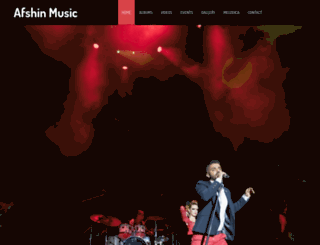afshinmusic.com screenshot