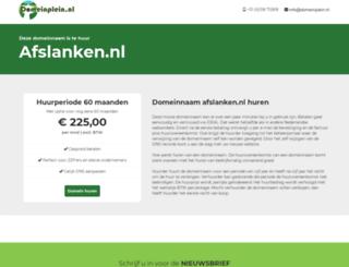 afslanken.nl screenshot