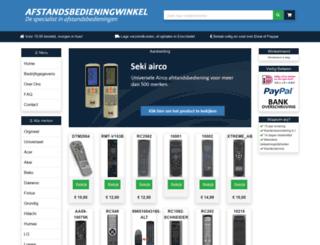 afstandsbedieningwinkel.nl screenshot