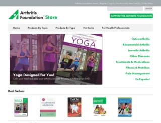 afstore.arthritis.org screenshot