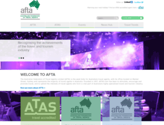 afta.com.au screenshot