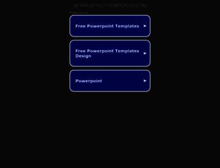 after-effect-templates.com screenshot