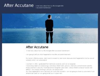 afteraccutane.com screenshot