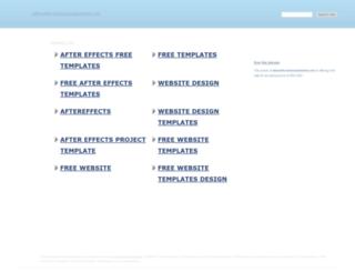 aftereffectstemplatesfree.net screenshot