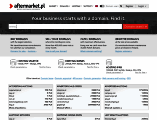 aftermarket.pl screenshot