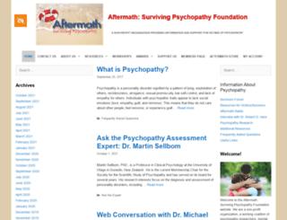 aftermath-surviving-psychopathy.org screenshot