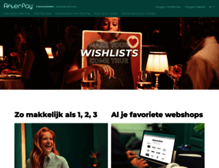 afterpay.nl screenshot