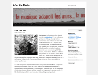 aftertheradio.wordpress.com screenshot