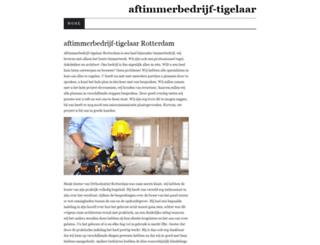 aftimmerbedrijf-tigelaar.nl screenshot