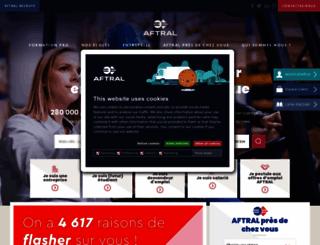 aftral.com screenshot