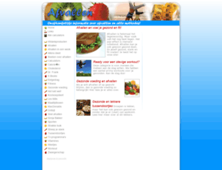 afvallen-gezond.nl screenshot