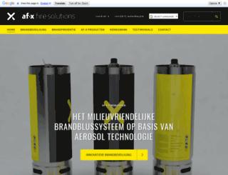 afxfiresolutions.com screenshot