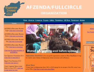 afzenda.com screenshot
