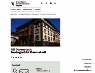 ag-darmstadt-justiz.hessen.de screenshot