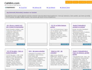 ag.cahilim.com screenshot