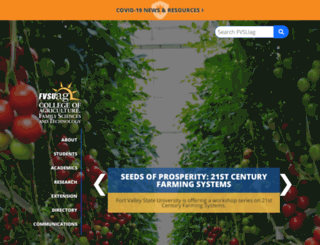 ag.fvsu.edu screenshot