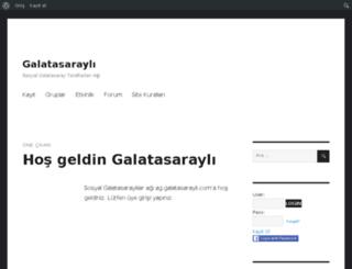 ag.galatasarayli.com screenshot