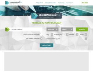 aga-telbt-c.cegbongeszo.hu screenshot