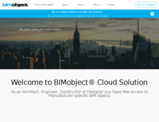 aga.bimobject.com screenshot